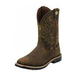 Justin Stampede Collection J124 Toe 12 Quot Cowboy Boots